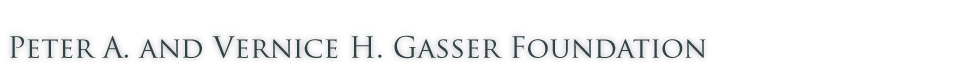 peter a and vernice h gasser foundation logo