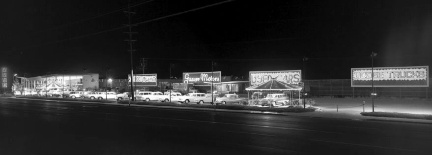 Gasser Motors, 1950s, Napa, California